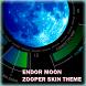 Endor Moon Zooper Skin Theme by bwildner