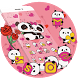 Pink Panda Cute Icons by Cool Theme Love