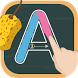 Write letters: Tracing ABC by Trigonom sh.p.k.