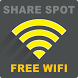 Share Spot Free WiFi by VyBeNYC Mobile