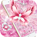 Pink Glitter Diamond Butterfly Theme by Alice Creative Studio