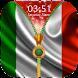 Italy Flag Zipper Lock Screen by Epoch Zipper Studio
