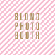 Blond Photobooth by D-sign mobile