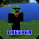 Creeper Friend Mod for MCPE by United Original Mods