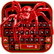 Red Spider Keyboard Theme by Dream Keyboard Creator
