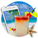 Hot Summer Theme: Tropical Sunny Beach wallpaper by Theme King