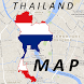 Thailand Map by Map City