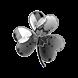 GO Launcher EX Theme Silver by Workshop Theme