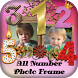 Number Photo Frame 2017 : Digit Photos Editor by Thug Life Apps