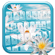 White Lilies Keyboard Theme