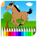 Horse Coloring Pages Games by Infinite Entertainment inc.