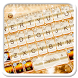Elegant Gold Diamond Keyboard Theme by 7star princess
