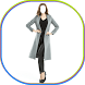 Girls Long Coat Photography by LinkopingApps