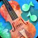 Violin Go Watercolor!