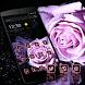 Purple Rose Romantic Theme by Theme Lovely