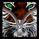 Tiger Lock Screen Zipper by SC App Media