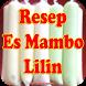 Resep Es Mambo Lembut dan Super Enak by Bushracreative