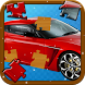 Vehicle Jigsaw Puzzle for Kids by Crazybox Studio