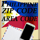 Philippine ZipCode & AreaCode by rainbow works