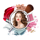 Makeup Photo Effect Makeover by Rii App
