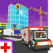 Hospital Craft: Building Doctor Simulator Games 3D by Sablo Games