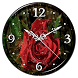 Rain Rose Clock Live Wallpaper by Lo Siento