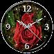 Rain Rose Clock Live Wallpaper by Lo Siento