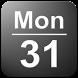 Date in Status Bar by Wagwan Apps