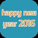 happy new year 2016 by fadi.aburube