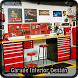 Garage Interior Design by Jillian Jones