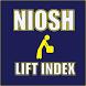 NIOSH Lifting Index by JFujimoto