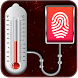 Fingerprint Body Temperature Simulator by Blood-Apps