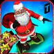 Hoverboard Rider 3D:Santa Xmas