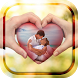 Love Heart Photo Frame by Ketch Frames