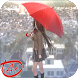Schoolgirl and Rain Anime Live Wallpaper by Anime Plus