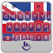The UK Flag Keyboard Theme by Sexy Free Emoji Keyboard Theme