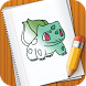 How to draw Pokemon toon by How to Draw Pokemon & Cartoon - HTD Labs