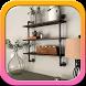 DIY Pipe Shelves Idea by Kajakoka