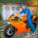 Bike Workshop Mechanic Simulator 3D by Gear Games Club