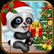 Little Christmas Panda Keyboard