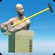 boxman Jump: ragdoll person box by DevArtInc
