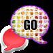 GO SMS - Rainbow Diamonds by SCSCreations