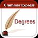 Grammar Express : Degrees Lite by Webrich Software