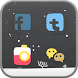 snowy day icon theme by Iconnect Corp