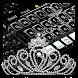 Diamond & Silver Keyboard Theme by Dream Keyboard Creator