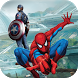 Tips Spider Man Captain AmericaShield of Marvel by Dragon Revolution Heroes Studio 2017