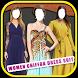 Women Chiffon Dress Suit by Aim Entertainments