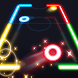 Glow Air Hockey by mobistar