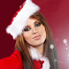 santa girls wallpapper by cool backgrounds moving llc