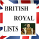 British Royal Family Lists by Reference Geek Apps
